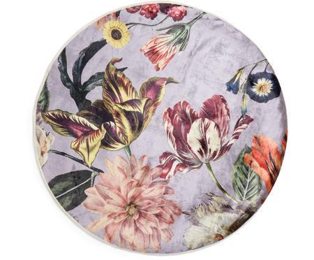 Runder Teppich Filou mit Blumenmuster