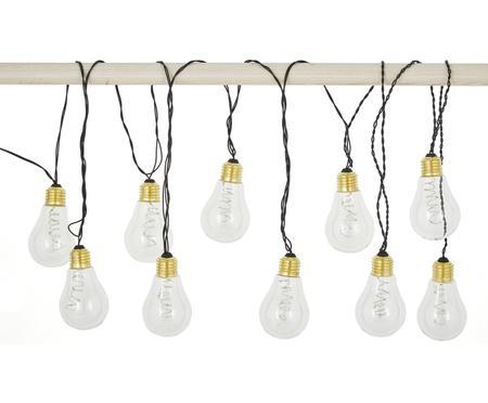LED-Lichterkette Bulb, 360 cm, 10 Lampions