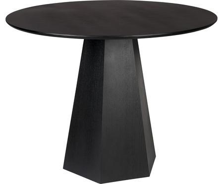 Tavolo rotondo nero Pillar