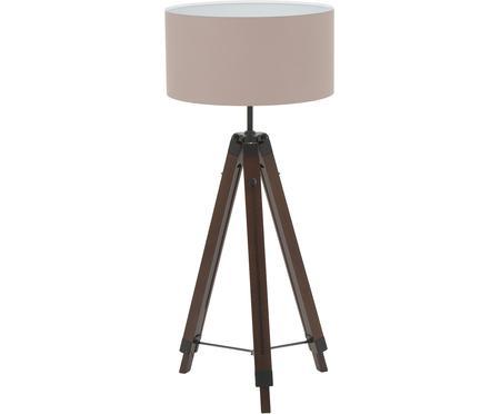 Lampa podłogowa z drewna z regulacją wysokości Matilda