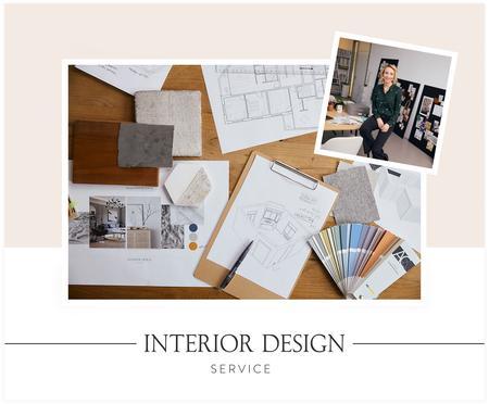 Interior Design Service für einen Wohnbereich