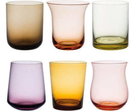 Bicchiere acqua in vetro soffiato Desigual 6 pz