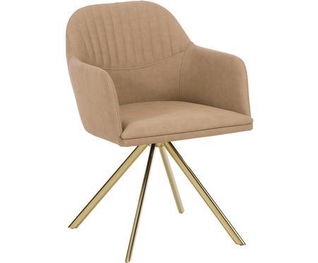 Krzesło obrotowe ze sztucznej skóry Lola