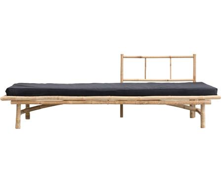 Chaise-longue da esterno in bambù Mandisa