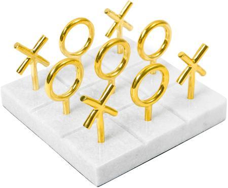 Designer-Brettspiel Tic Tac Toe aus Marmor