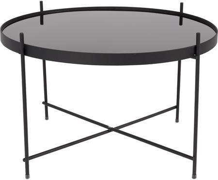 Malý konferenční stolek se skleněnou deskou Cupid