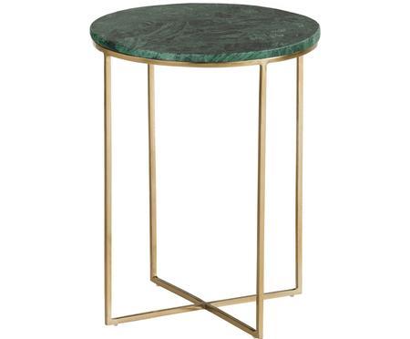 Table d'appoint ronde en marbre Alys