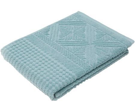 Handtuch Retro mit Hoch-Tief-Muster