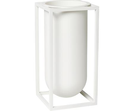 Vase en aluminium fait main Kubus