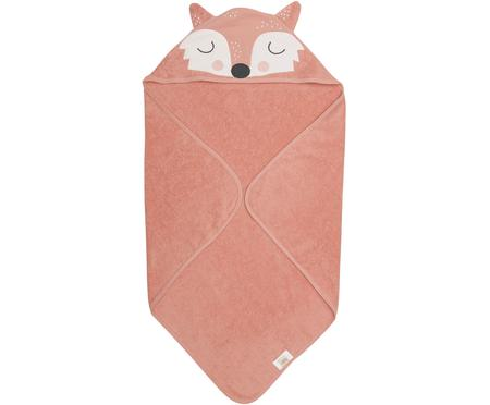 Cape de bain en coton bio Fox Frida
