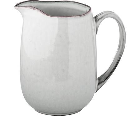 Handgemachter Milchkrug Nordic Sand aus Steingut