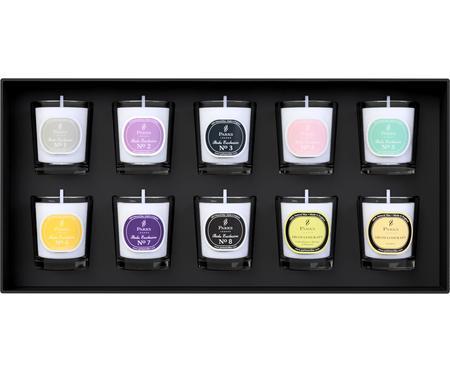Set 10 candele profumate Aromatherapy