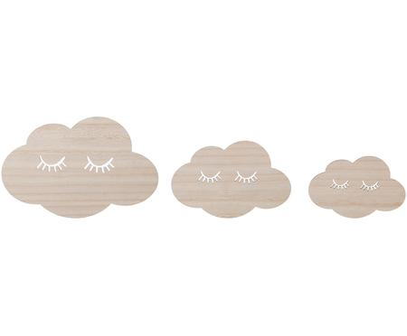 Set decorazioni da parete Clouds, 3 pz.