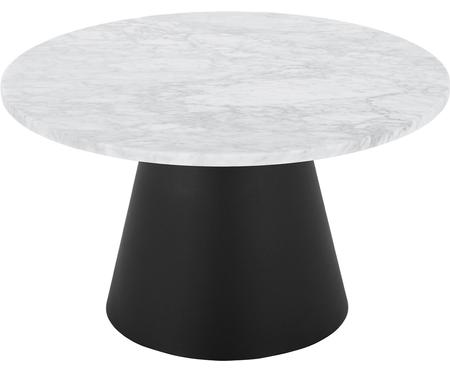 Okrągły stolik kawowy z marmuru Theo