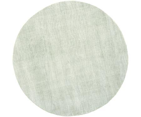 Okrągły ręcznie tkany dywan z wiskozy Jane
