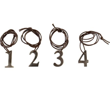 Set ciondoli decorativi Dana Advent Number, 4 pz.