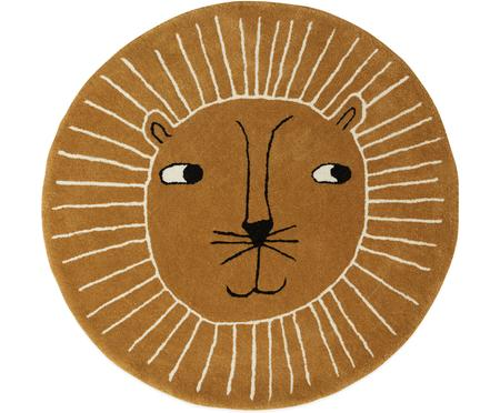 Wollen vloerkleed Lion