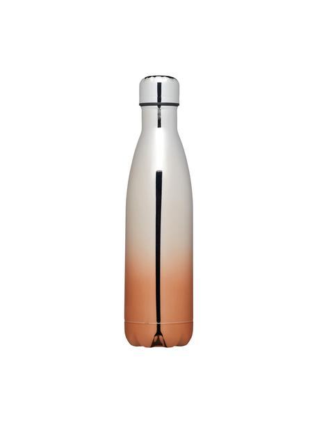 Isolierflasche Rocky, Unten: Edelstahl, verkupfert und, Dichtung: Silikon, Edelstahl, Kupfer, Ø 6 x H 27 cm