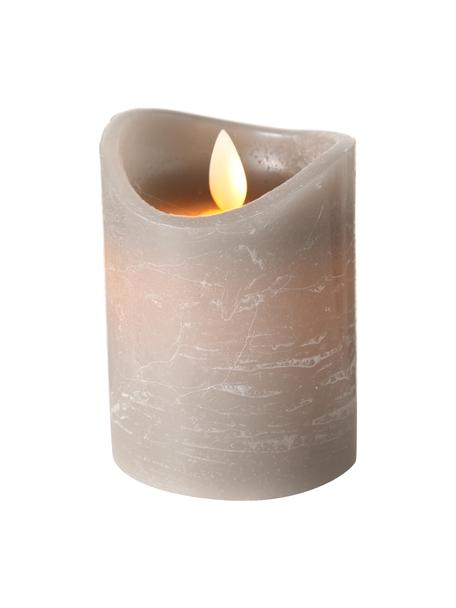 LED kaars Bino, Grijs, Ø 8 x H 10 cm