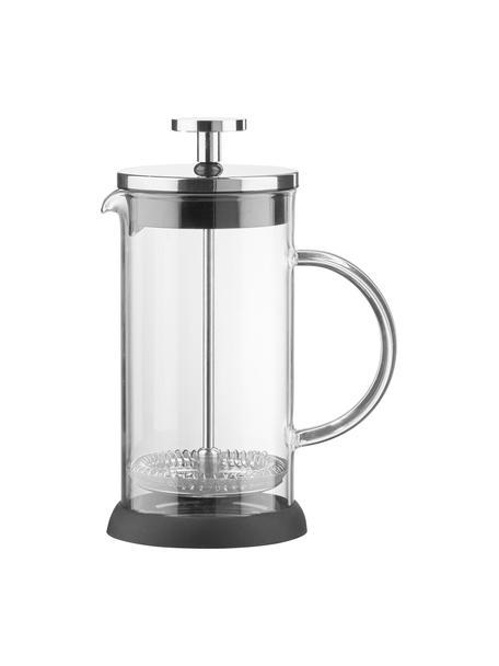 Caffettiera Beata, Brocca: vetro borosilicato, Trasparente, acciaio inossidabile, nero, Ø 14 x Alt. 22 cm