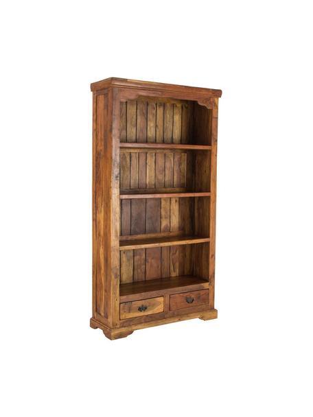 Estantería de madera de acacia Chateaux, Madera maciza de acacia, Acacia, An 100 x Al 185 cm