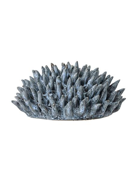 Oggetto decorativo Gala, Terracotta, Blu, Ø 11 x Alt. 6 cm