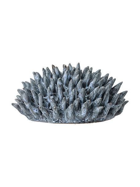 Pieza decorativa Gala, Gres, Azul, Ø 11 cm x Al 6 cm