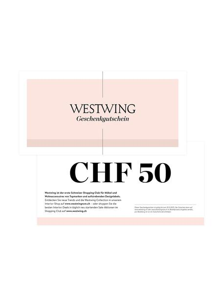 Gutscheinkarte, Gutschein auf edlem Papier, in hochwertigem Kuvert, Weiss, 50