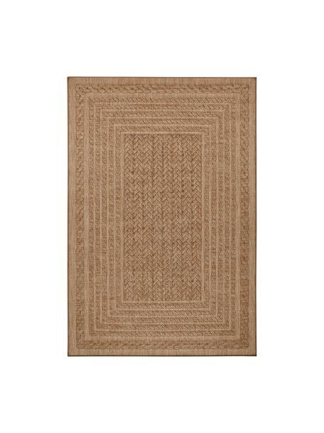 In- & Outdoor-Teppich Limonero in Jute Optik, 100% Polypropylen, Beige, Braun, B 120 x L 170 cm (Grösse S)