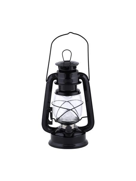 LED-Laterne Tallin, Gehäuse: Metall, beschichtet, Schwarz, 15 x 24 cm