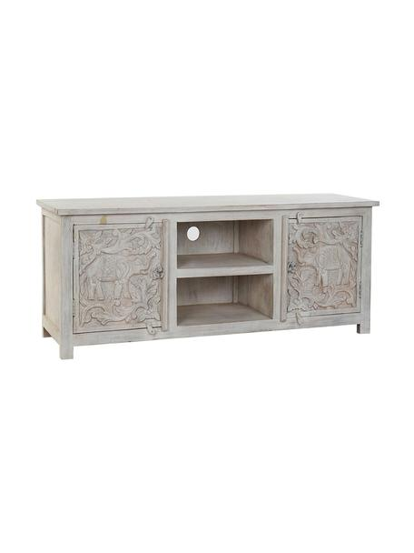 Mueble TV Elefante, Blanco, An 151 x Al 60 cm