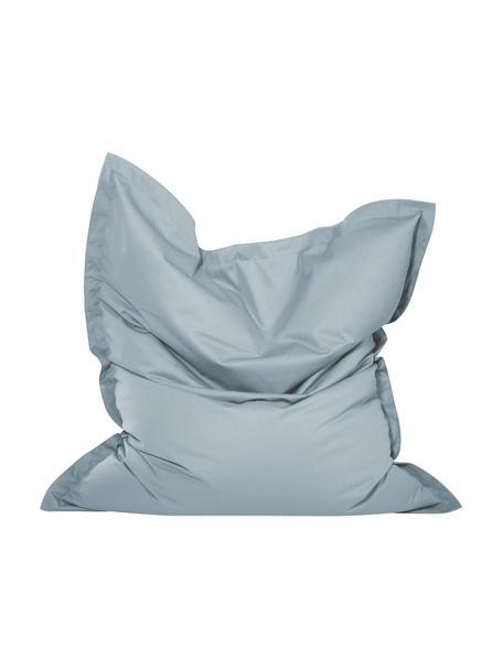 Großer Sitzsack Meadow, Bezug: Polyester, polyurethanbes, Steingrau, 130 x 160 cm