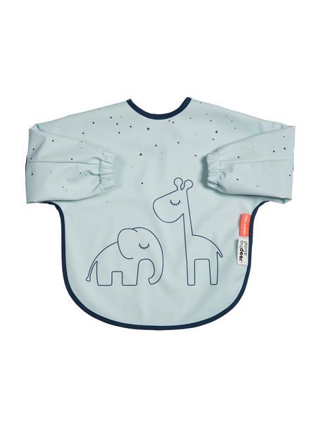 Ärmellätzchen Dreamy Dots, 100% Polyester, PU-beschichtet Öko-Tex zertifiziert, Blau, 35 x 72 cm
