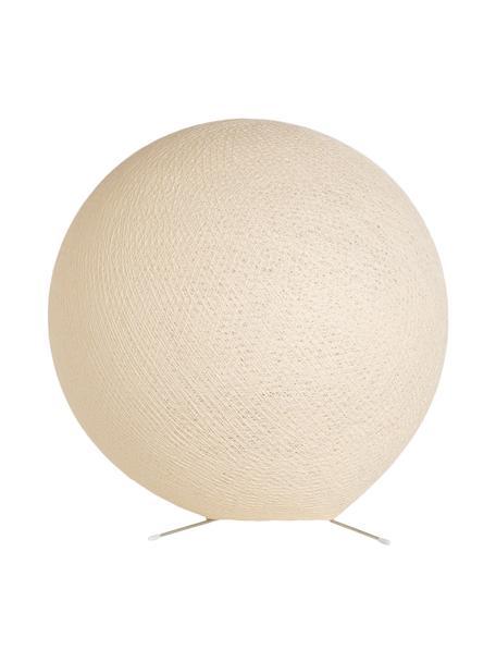 Lámpara de mesa Colorain, Pantalla: poliéster, Cable: plástico, Beige, Ø 36 cm