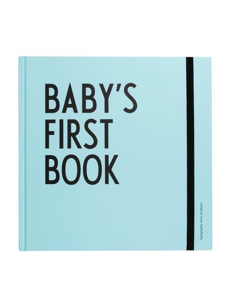 Erinnerungsbuch Baby´s First Book, Papier, Blau, 25 x 25 cm