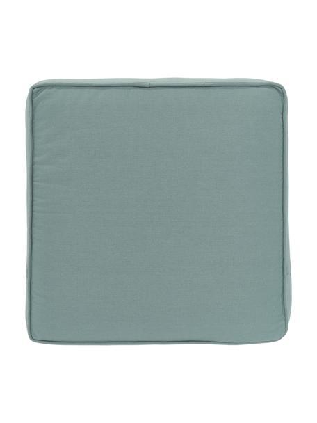 Sitzkissen Zoey in Salbeigrün, Bezug: 100% Baumwolle, Grün, 40 x 40 cm