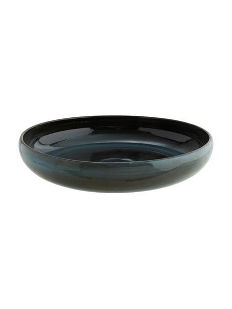 Miska z kamionki Setal, Kamionka, Ciemny niebieski, ciemny brązowy, Ø 31 x W 7 cm