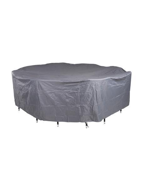 Funda cubierta para muebles de exterior Patio, 100%poliéster, Gris, Ø 200 x Al 86 cm