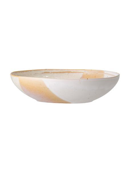 Piatto fondo fatto a mano April, Terracotta, Tonalità beige, Ø 23 x Alt. 6 cm