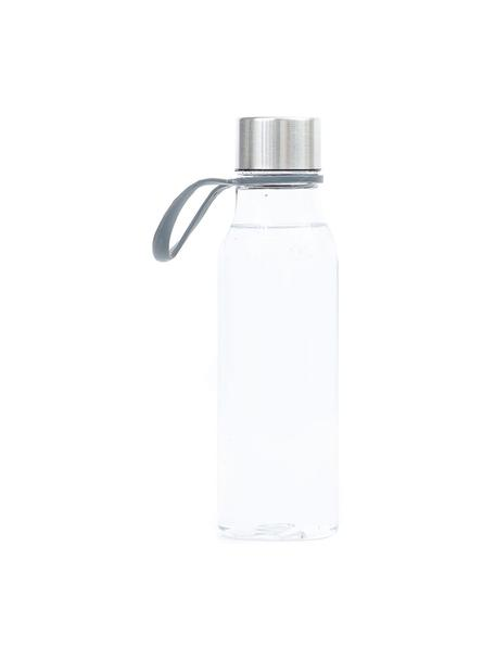 Borraccia piccola Lean, Trasparente, acciaio, 570 ml