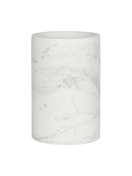 Vaso cepillo de dientes Swan, Plástico (poliresina), Blanco, Ø 7 x Al 11 cm