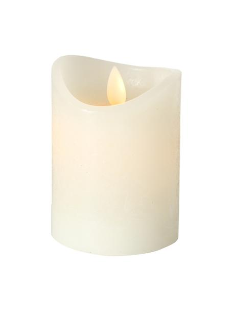 LED-Kerze Bino, Cremefarben, Ø 8 x H 10 cm