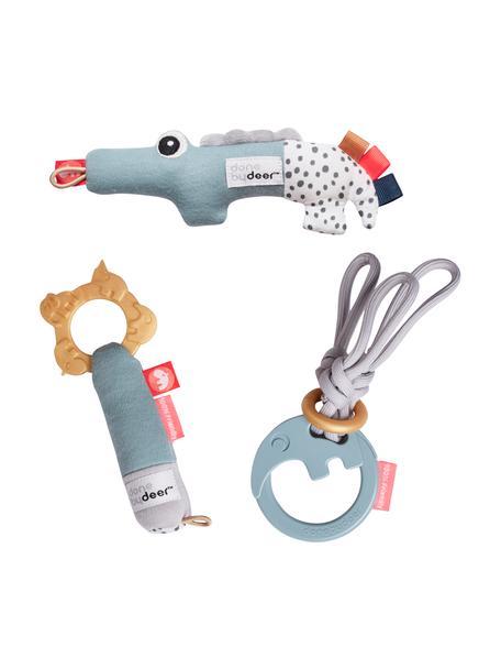 Spielzeug-Set Deer Friends, 3-tlg., Griff: 100% ABS, Bezug: 100% Baumwolle, Bezug: 100% Baumwolle, Mehrfarbig, Set mit verschiedenen Größen