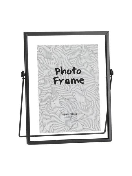 Ramka na zdjęcia Aimee, Rama: czarny Front: transparentny, S 13 x D 18 cm