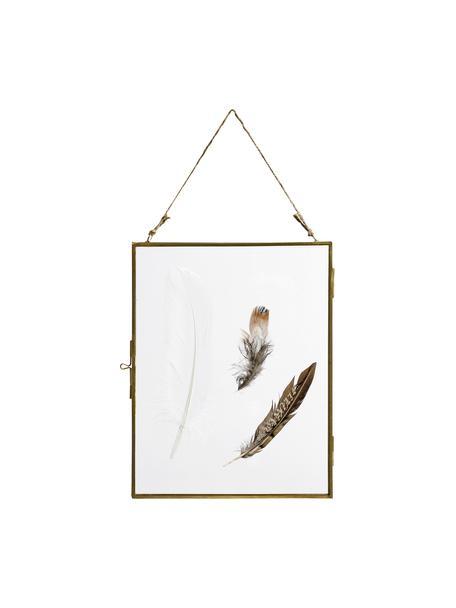 Fotolijstje Pioros, Frame: gecoat metaal, Messingkleurig, transparant, 20 x 25 cm