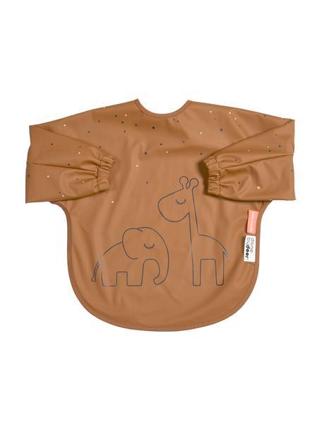 Śliniak z rękawkami Dreamy Dots, 100% poliester powlekany PU Certyfikat Oeko-Tex, Pomarańczowy, S 35 x D 72 cm