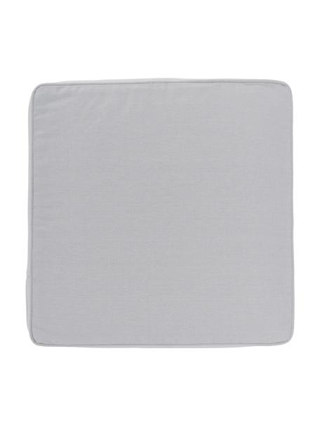 Sitzkissen Zoey in Hellgrau, Bezug: 100% Baumwolle, Grau, 40 x 40 cm