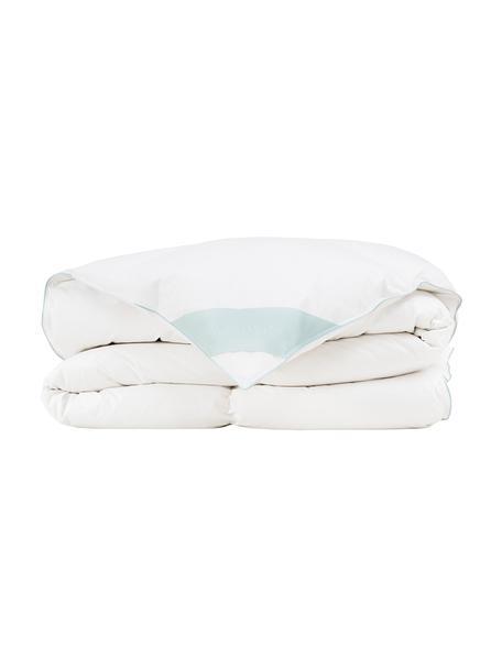 Reine Daunen-Bettdecke Premium, warm, Hülle: 100% Baumwolle, feine Mak, Weiß, 135 x 200 cm