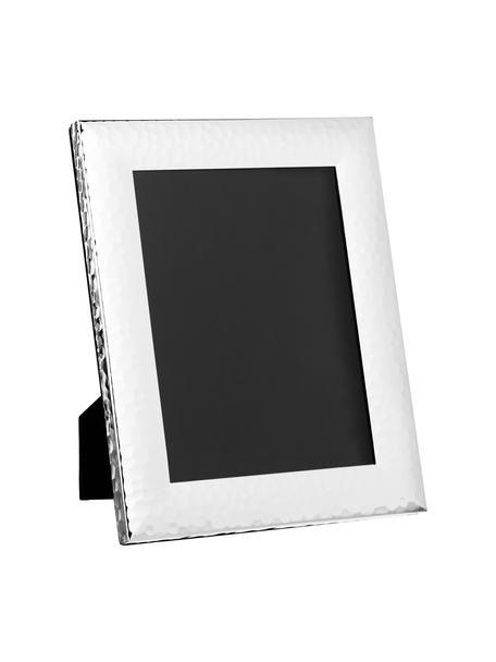 Bilderrahmen Gubbio, Rahmen: Metall, versilbert, Front: Glas, Rückseite: Mitteldichte Faserplatte , Silber, 15 x 20 cm