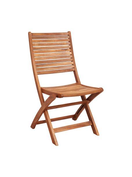 Klappstühle Somerset aus Holz, 2 Stück, Akazienholz, geölt, Akazienholz, B 50 x T 63 cm